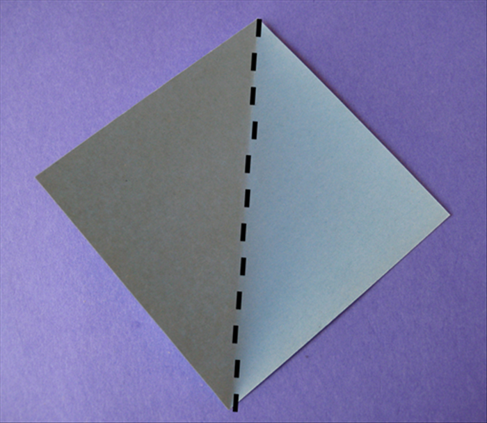 Place the paper with the points on  the top, bottom and sides.