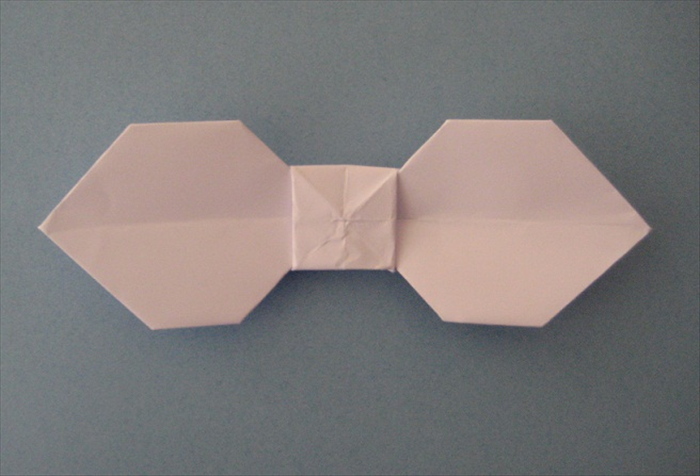 How to make a bow tie origami flower base apps directories