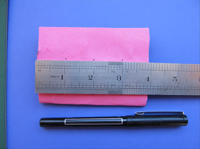 Squash the roll flat