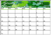 How to make your own  calendar template with Inkscape