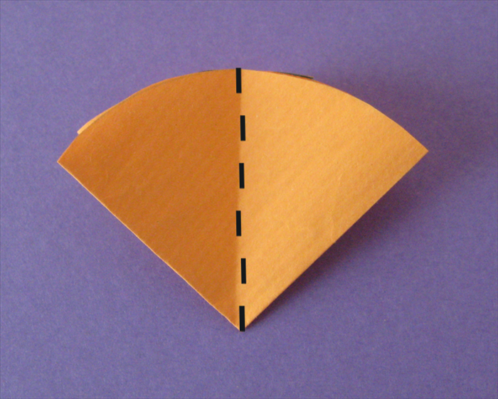 <p> Fold them in half a third time</p>  <p> Unfold all the folds.</p>