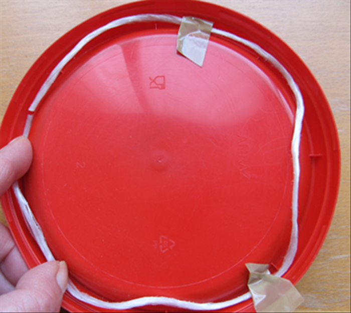Measure the inside of the lid with a string