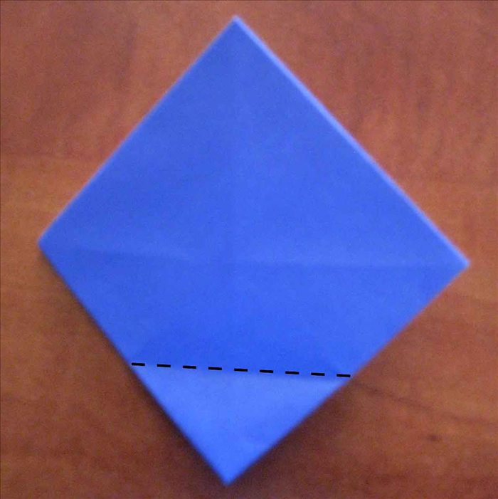 Flip the paper to the back side.