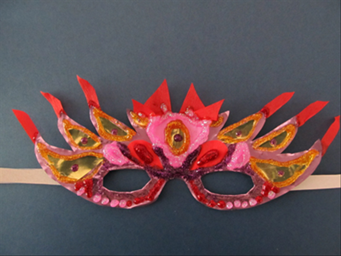 <p> Have fun with paints, colored paper, feathers, ribbons etc. Enjoy!</p>