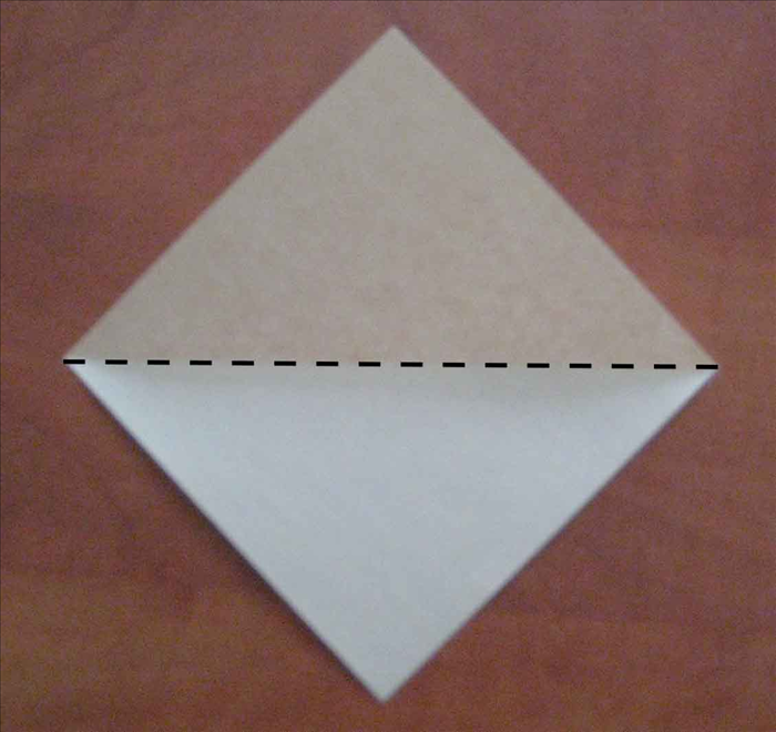 Skip to step 9 if you know how to fold the square base.