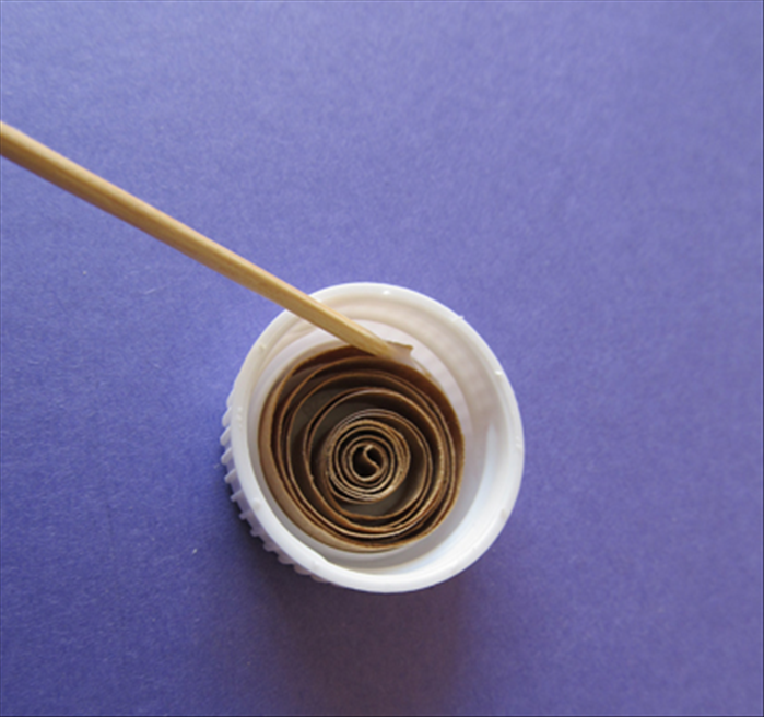 To make looser shapes: