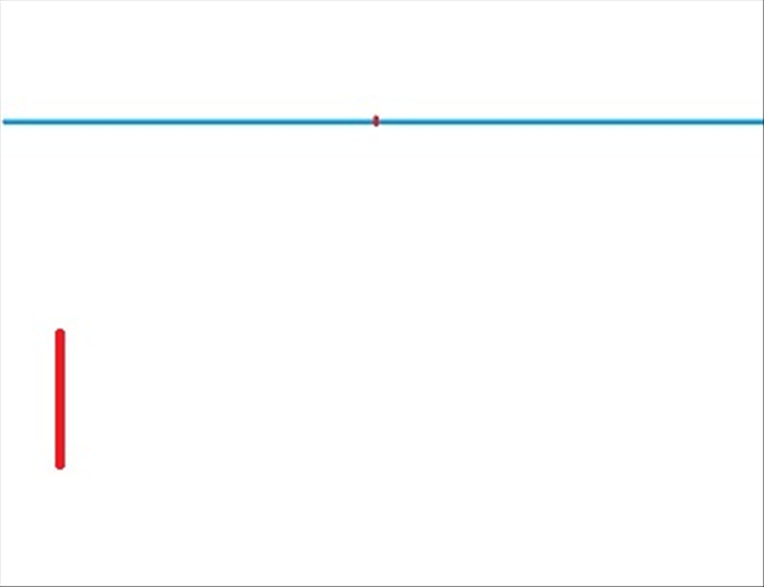 Draw the horizon line and vanishing point Draw a vertical line to establish the placement of the closest object and its height.  *This line is called a transversal line