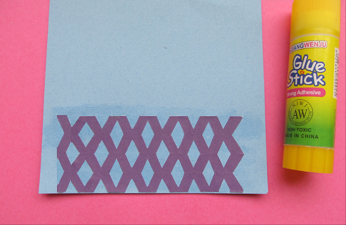 Carefully unfold the paper you just cut.